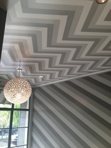 Chevron Ceiling
