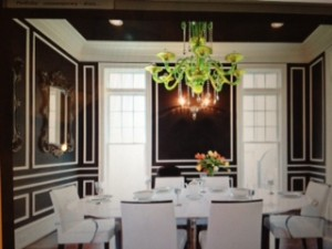 Mold Dining room