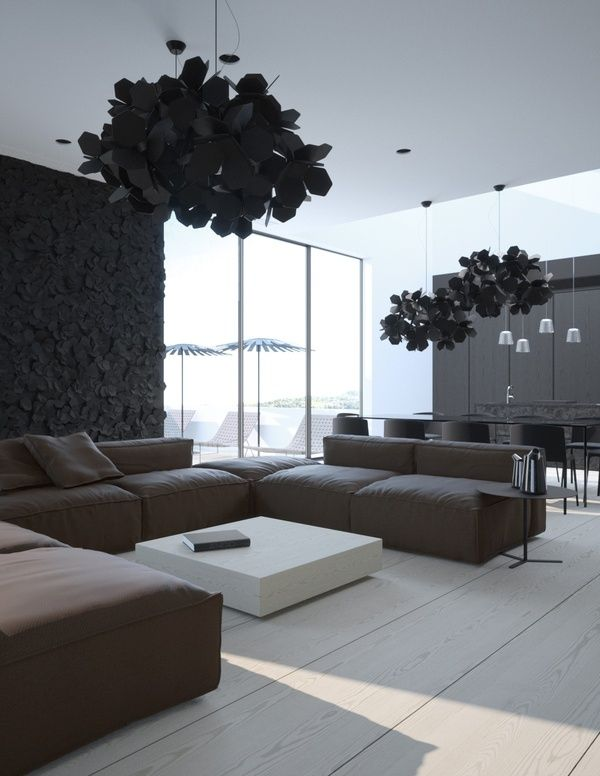 The modern chandelier whats hot by jigsaw design group black chand living aloadofball Gallery