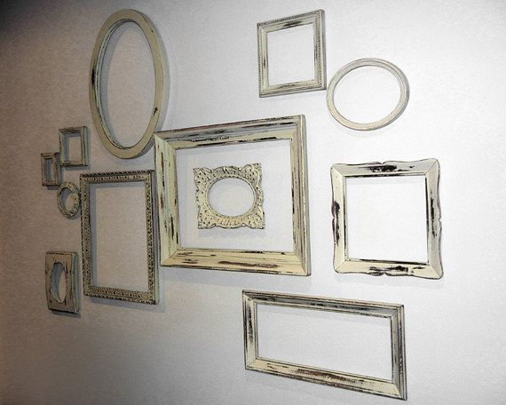 The empty frame wall what 39 s hot by jigsaw design group for Small vintage style picture frames