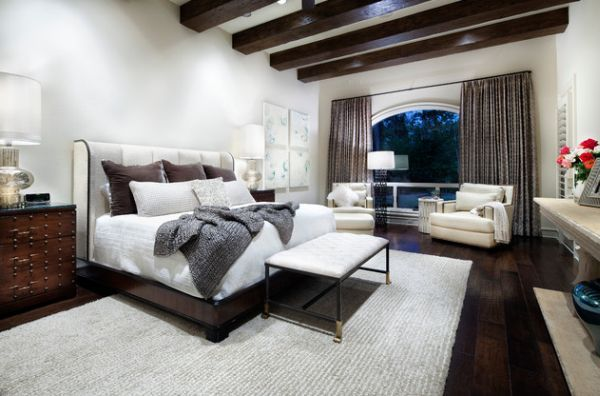 bedroom marvelous ideas with wooden roofs | Exposed Ceiling Beams | What's Hot by JIGSAW DESIGN GROUP
