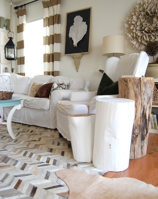 Ivory Hide Rug Whats Hot By JIGSAW DESIGN GROUP