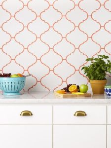 Colored Grout Orange
