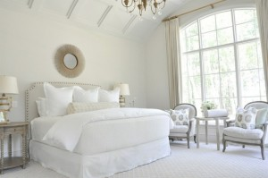 plush bedroom