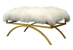 Sheep Gold bench