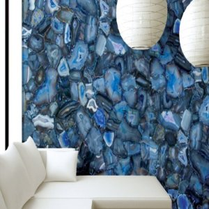 Agate wall panel