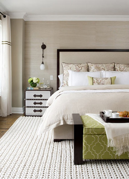 Chunky knit what 39 s hot by jigsaw design group for Neutral bedroom wallpaper