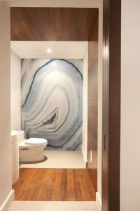 Resin Coated Agate Photo on Wall