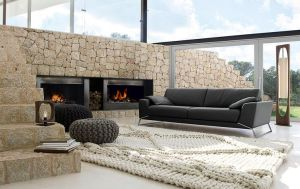 Roche bobois rug and pouf cover 1