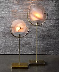 Z Gallerie Agate Candleabrae