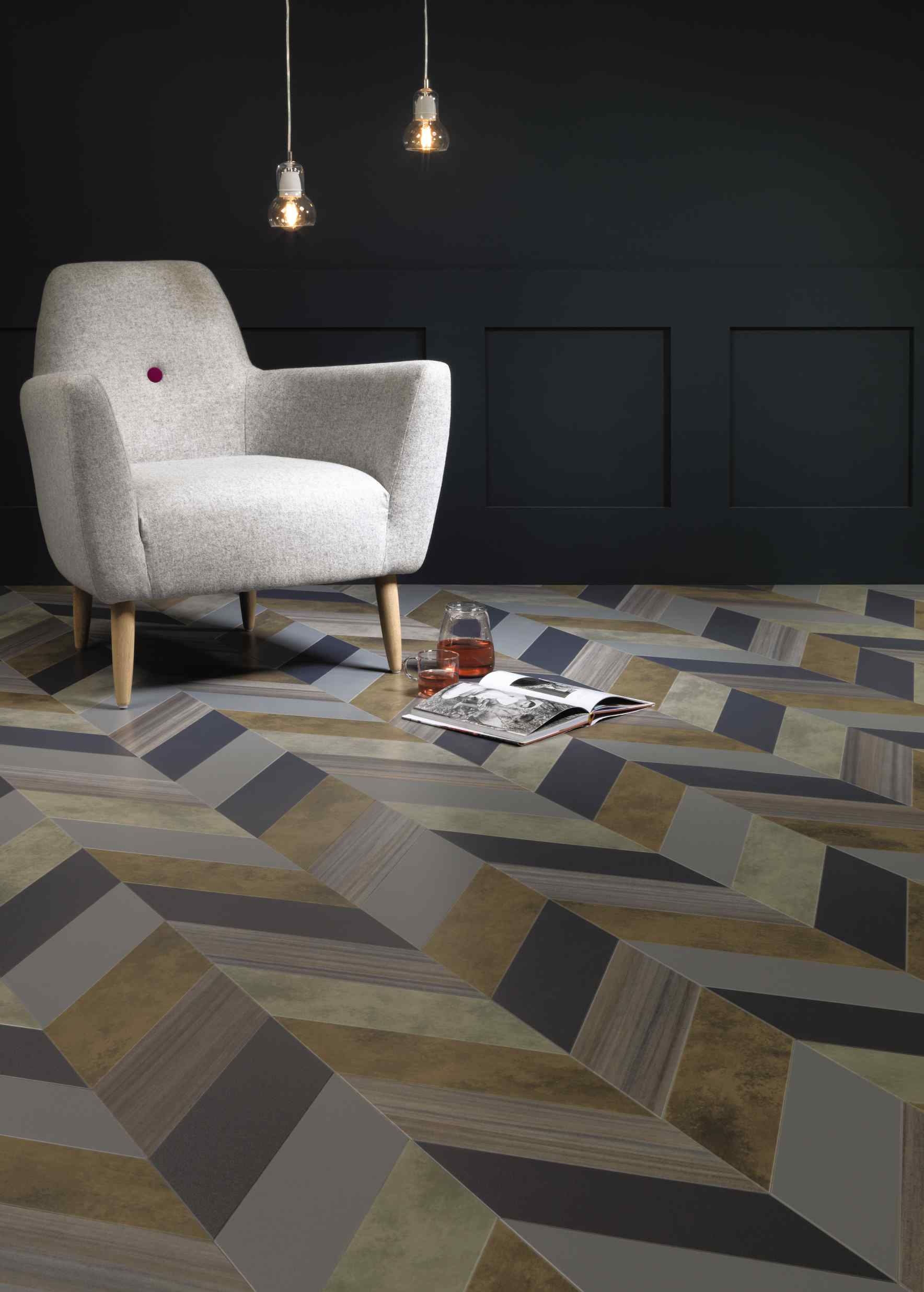 Luxury vinyl tile what 39 s hot by jigsaw design group Luxury design floors