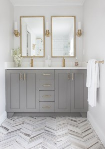 Chelsea Grey Cabinets bath