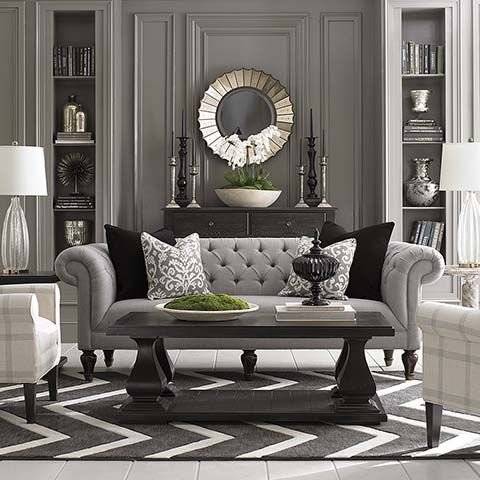 Grey Sofa Chevron Rug . Part 69
