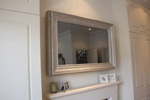tV mirror framed