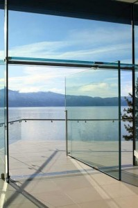 Pivot Door 12 All Glass