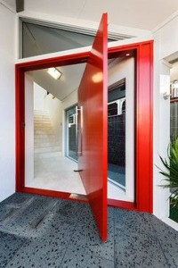 Pivot Door 12 Red