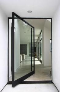 Pivot Door 5 Modern b n w