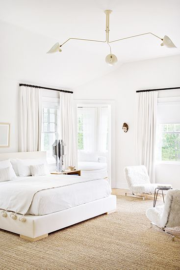 Seagrass Rug All White Room