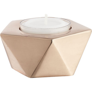 gami-rose-gold-candleholder cb2