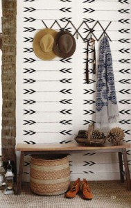 Entryway Small Space ethnic
