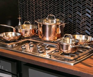 Rose Gold Stove