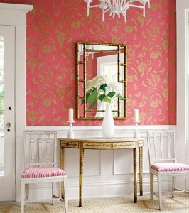 Wall Paper Entry Pink Kravet