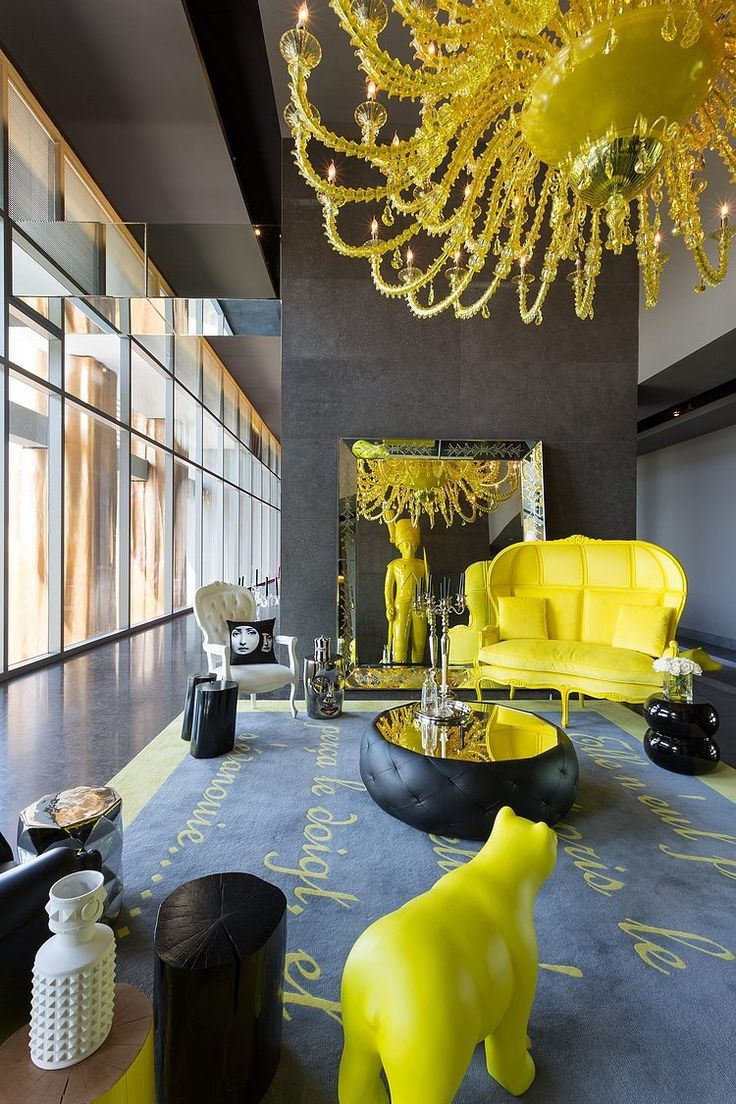 Lemon yellow whats hot by jigsaw design group yellow chandelier aloadofball Gallery