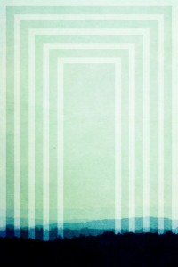 Art Deco print Mist