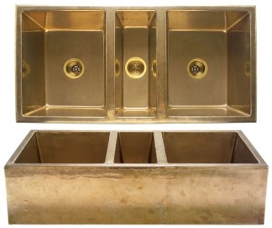 Gold Farmhouse sink