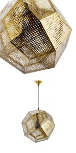 Gold Pendant lamp