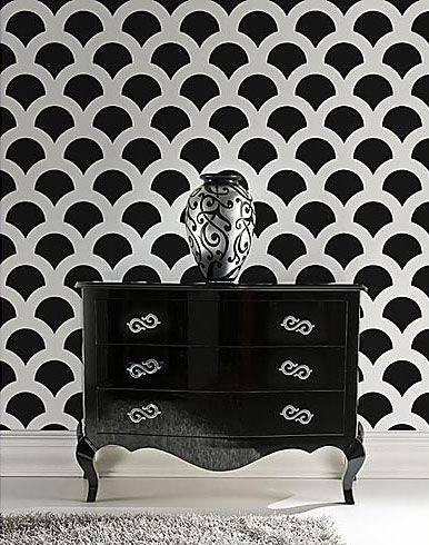 Design Dresser Scalloped Edge Furniture with scalloped edges