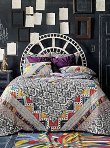 Tribal bed fashion comp