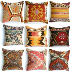 Turkish pillows