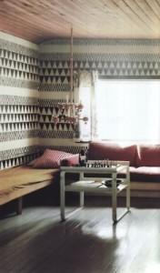 floor to ceiling print tribal