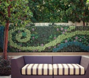 Vertical mosaic outdoor