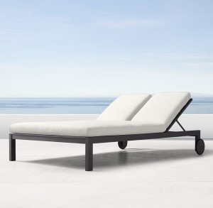 Agean double chaise lounger