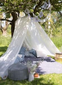 backyard adult tent blue
