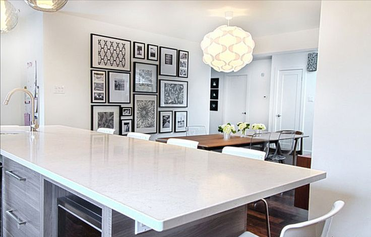 monochromatic art what39s hot by jigsaw design group With kitchen colors with white cabinets with empty picture frame wall art