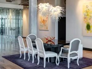 mono art loft dining modern art