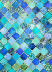 Cobalt Moroccan Tile