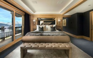 bedroom french alps lux ski house
