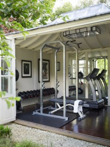 Home Gym outdoor mansford roof