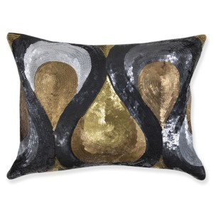 JA sequin pillows