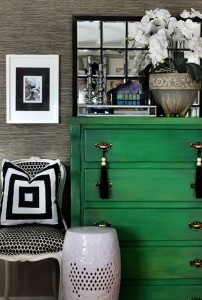 green dresser mixed