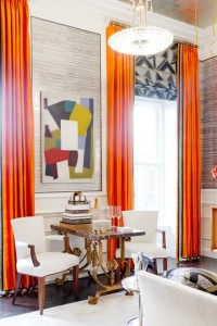 orange layered w roman