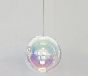 Sebastian scherer glass globe light