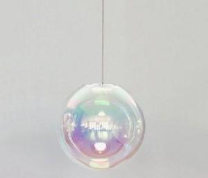 Sebastian scherer glass globe light