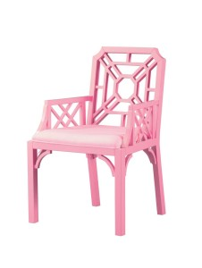 bubble gum cane chair