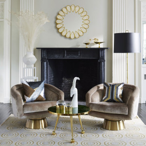 J A opening photo Bacharach-Swivel-Chairs-styled-jonathan-adler