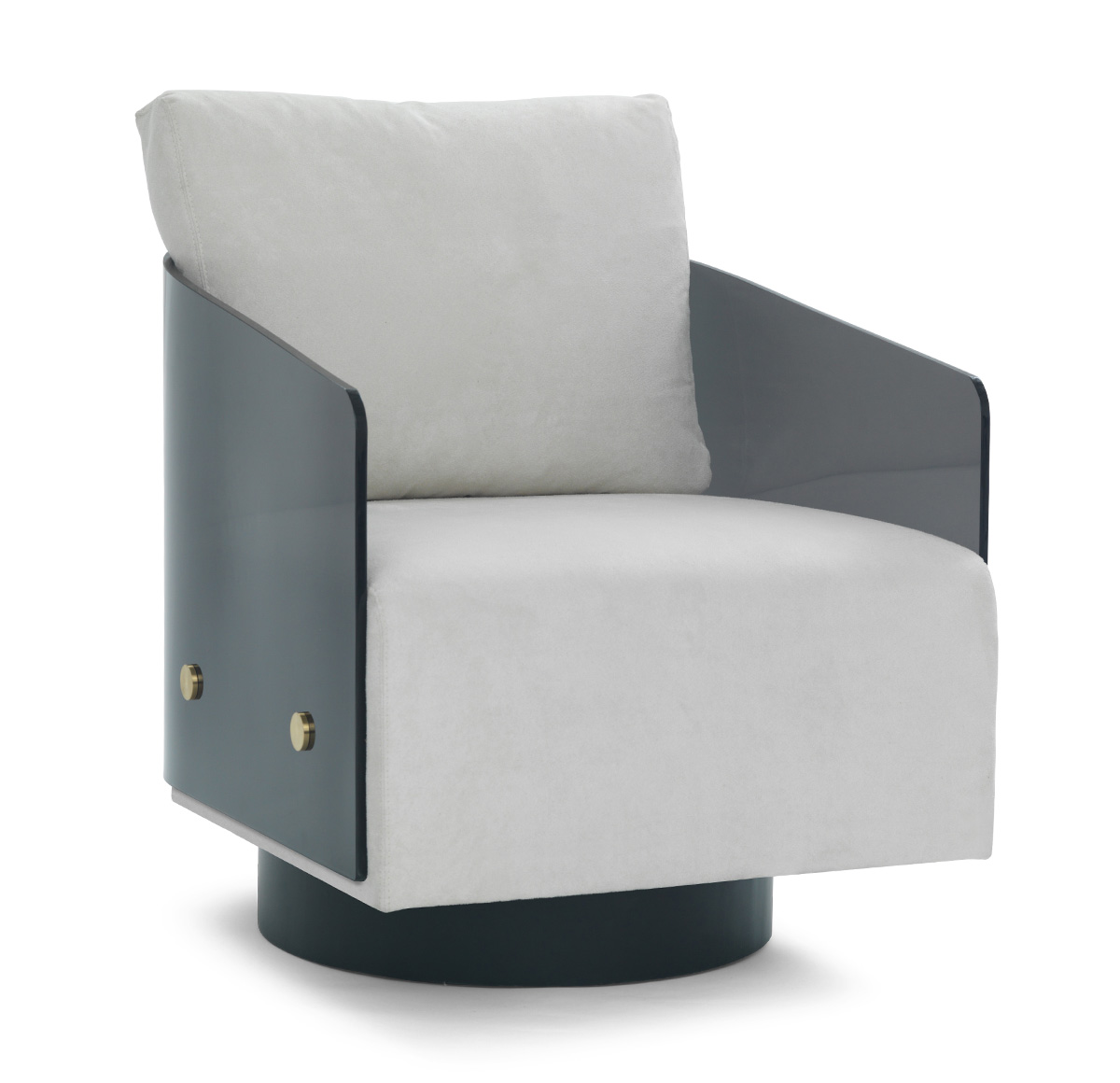 For Example The Raphael Lucite And Sheepskin Chair Or The Smokey Lucite  Swivel From The Aforementioned Mitchell U0026 Gold.